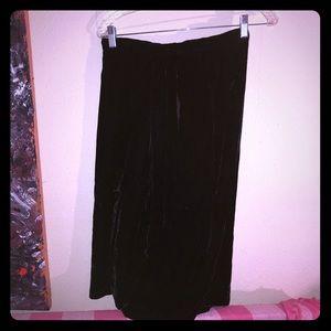 👠NEW ITEM👠Vintage crushed velvet pencil skirt